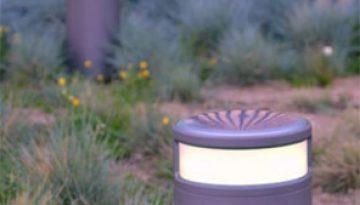 Borne lumineuse Geoled Alpha : high tech et économique