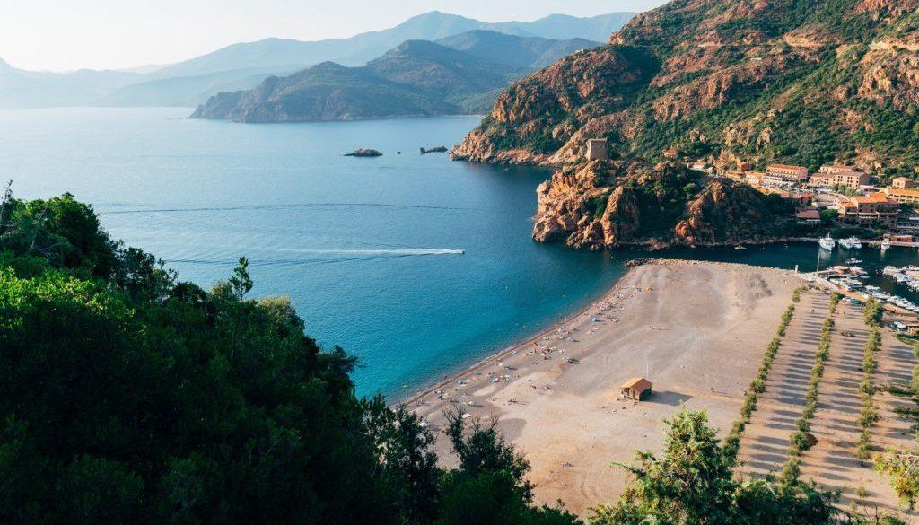 Porto Ota en Corse