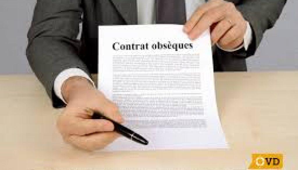contrat obsèques de prévoyance