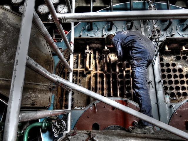 travaux de maintenance industrielle