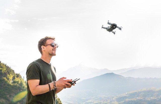 prise de vue par drone