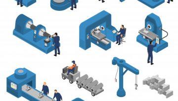 jeu-machines-outils-travailleurs-isometrique_98292-3188