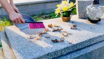 entretien des tombes